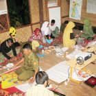 PELATIHAN. Salah satu kegiatan warga dilaksanakan The Gowa Center (TGC) di Rumah Hijau Denassa (RHD)