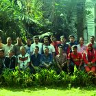 RHD. Pertemuan Bulanan Wartawan Harian Fajar berlangsung di Rumah Hijau Denassa (RHD), Sabtu, 11 Oktober 2014.