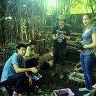Pemuda dari Tiga Negara Membenih Tumbuhan Lokal di Rumah Hijau Denassa (23.1.2016)