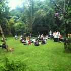 RHD. Kunjungan PKL Peserta Diklat TBM se-Sulawesi ke TBM Denassa di Rumah Hijau Denassa (RHD) Jumat, 14 April 2016 (Foto: Darmawan Denassa)