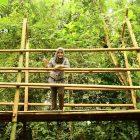 RHD. Prisca Paramita Adnan, Bunda PAUD Kabupaten Gowa di Sky Garden Rumah Hijau Denassa (13.12.2016)