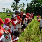 RHD. Outing Class SD Unggulan Kompleks Pemda Makassar (08.04.2017) di Persawahan Rumah Hijau Denassa (RHD)
