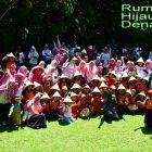 RHD. Outing Class TK Ceria Makassar di Rumah Hijau Denassa (RHD) 08.04.2017
