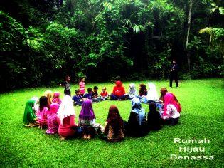 RHD. Kelas Komunitas RHD bersama Pejuang Nasi dari Berbagi Nasi Makassar (25.05.2017)