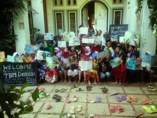RHD. Kelas Komunitas Rumah Hijau Denassa (RHD) T.A. 2017 (Foto: Darmawan Denassa)