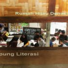 RHD. Pengunjung Kampung Literasi Borongtala di Bulan Ramadhan 1438 H