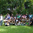 RHD. Peserta Sekolah Perjalan dari Rumah Guru di Rumah Hijau Denassa (RHD) (26.11.2017)