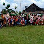 RHD. Keluarga Bedar PAUD Islam Terpadu Darussalam, Sudiang, Makassar di Sawahku (25/04/2019)