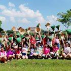 RHD. Siswa Kelas 4 SD Zion Makassar belajar di Sawahku (09.05.2019)