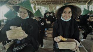 RHD. Kunjungan Kelas C Peserta MK Intensive Tour Poltekpar Makassar di Sawahku (05.12.2020)